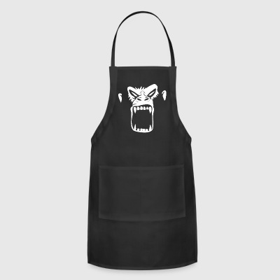 Gorilla Face - Adjustable Apron