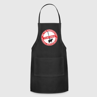 Gerneration That Ends Animal Explotation Gift - Adjustable Apron