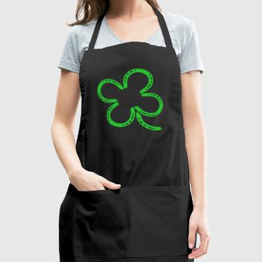 4 leaf clover - Adjustable Apron