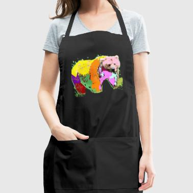 rainbow bear - Adjustable Apron