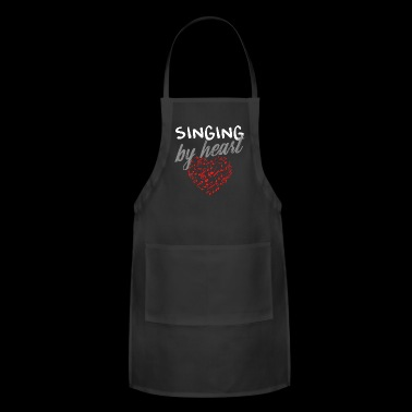 singing by heart - Adjustable Apron