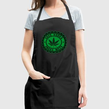 Weed vs Vodka - Adjustable Apron
