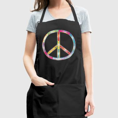 Peace sign - Adjustable Apron