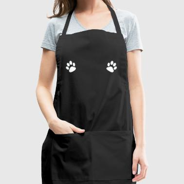 Paws on Boobs! - gift - Adjustable Apron