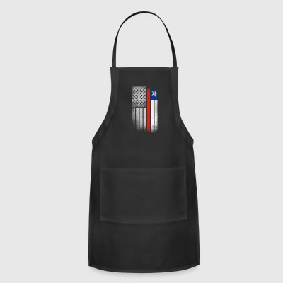 Chilean American Flag - Adjustable Apron