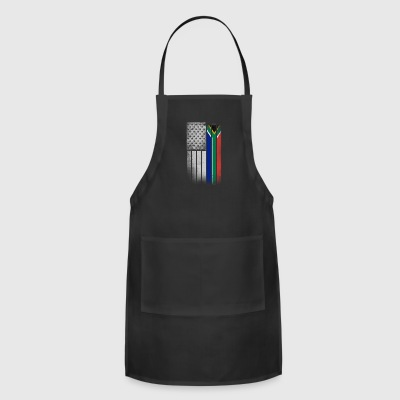 South African American Flag - Adjustable Apron