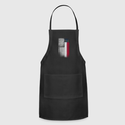 USA Vintage North Carolina State Flag - Adjustable Apron