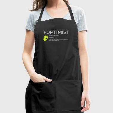 Hoptimist - for Brewers and Craft Beer Lover - Adjustable Apron