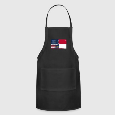 North Carolina American Flag Tee - Adjustable Apron