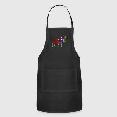 Moose Tee Shirt - Adjustable Apron