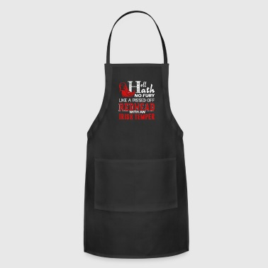 Pissed Off Redhead Shirt - Adjustable Apron