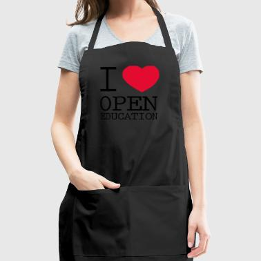 I Love Open Education - Adjustable Apron