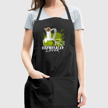 Essential Oil Tee Shirt - Adjustable Apron