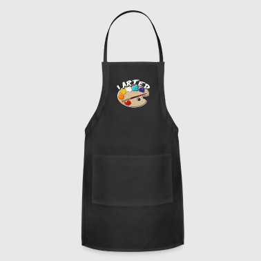 I Arted Tee Shirt - Adjustable Apron