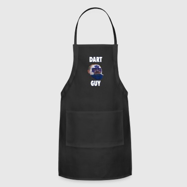 Dart Guy Funny Toronto Maple Leaf Tee Shirt - Adjustable Apron