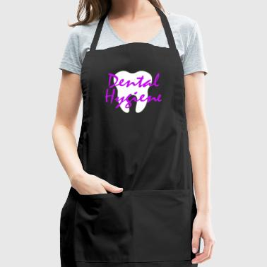 Tooth Dental Hygiene - Dental Hygienist T-shirt - Adjustable Apron