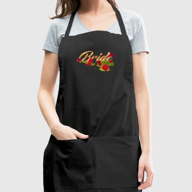 bride flower team bride - Adjustable Apron