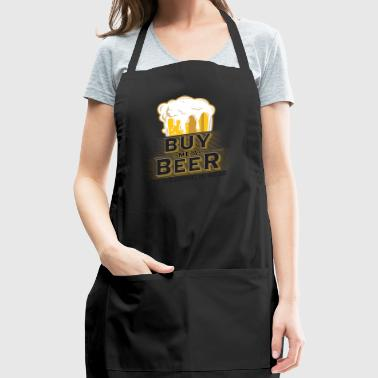 Buy me a beer my wedding is near - Adjustable Apron
