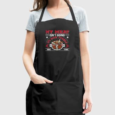 Meat Isnt Going To Rub Itself BBQ Love - Adjustable Apron