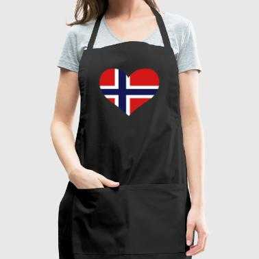 A Heart For Norway - Adjustable Apron