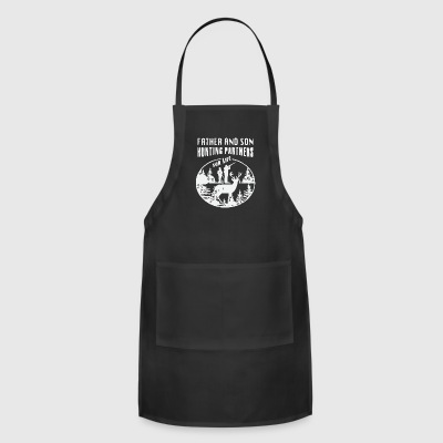 Father and son hunting partner for life - Adjustable Apron
