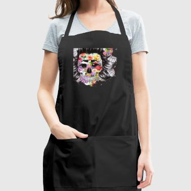 lady skeleton - Adjustable Apron