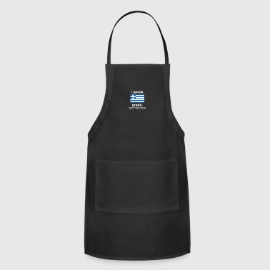 SUPERPOWER_-_greek - Adjustable Apron