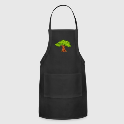 oak-tree-flora-wildlife - Adjustable Apron