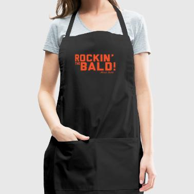 Rockin' the Bald! - for the Bald and Proud® - Adjustable Apron
