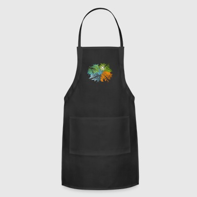 Four Seasons In One Day - Adjustable Apron