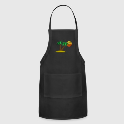 Palm Trees and Sun - Adjustable Apron