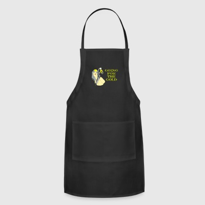 GOLD BLACK - Adjustable Apron
