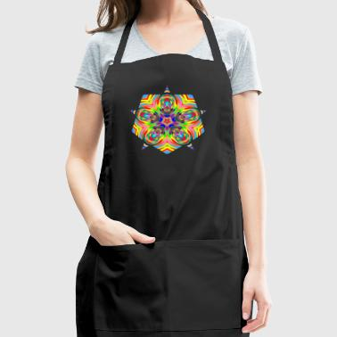 Psychedelic Stars Logo - Adjustable Apron