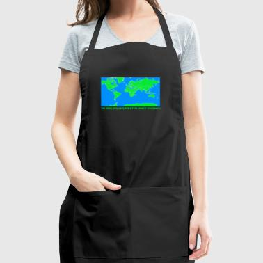 THE WORLDS GREATEST PLANET ON EARTH - Adjustable Apron