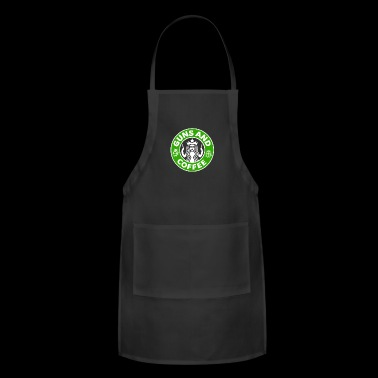Guns and Coffee - Adjustable Apron