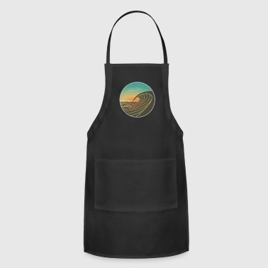 SunsetPeak_CircleEmblem_SMALLER - Adjustable Apron