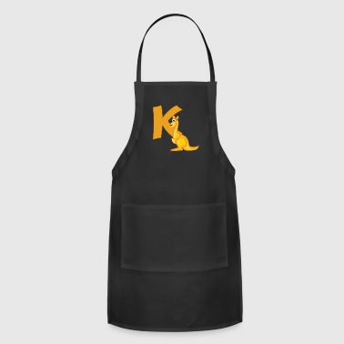 K Is For Kangaroo - Adjustable Apron