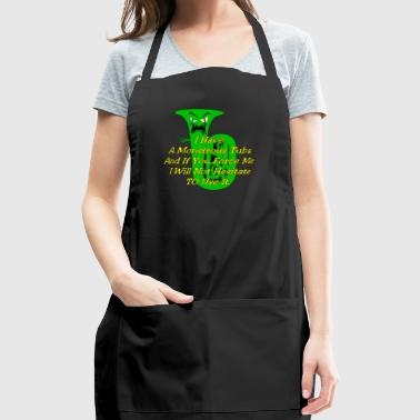 Monstrous green tuba - Adjustable Apron