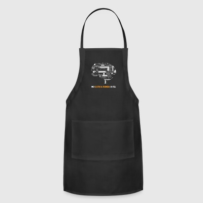 Only Electrical Engineers Can Tell - Funny T-shirt - Adjustable Apron