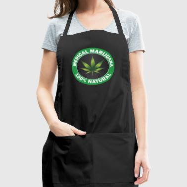 medical cannabis 100% - Adjustable Apron