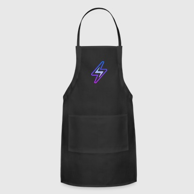 lightning bolt - Adjustable Apron