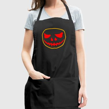 SKull Tshirt - Adjustable Apron