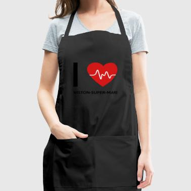 I Love Weston-super-Mare - Adjustable Apron