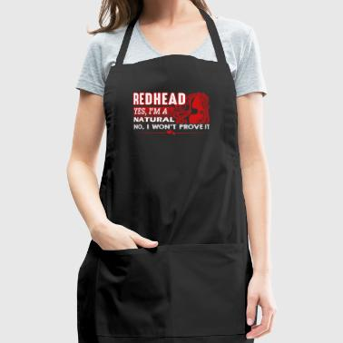 Natural Redheads Shirt - Adjustable Apron