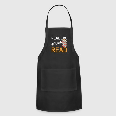 Readers gonna read - Adjustable Apron