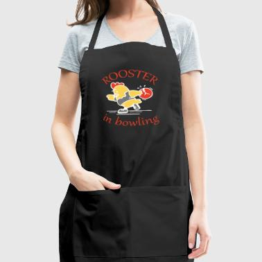 Rooster in Bowling - Adjustable Apron