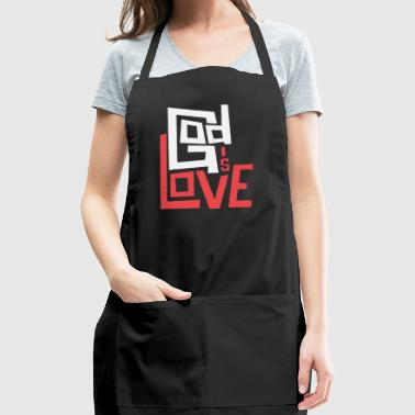 God is Love - Adjustable Apron