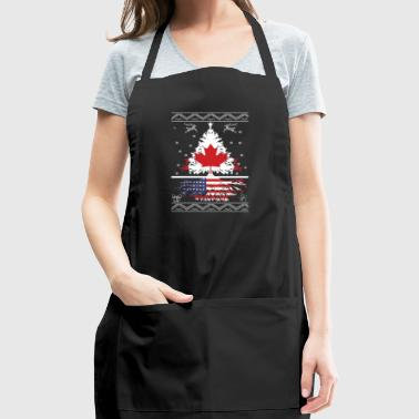 Canadian with American root - Adjustable Apron