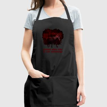 Wouldst Thou Like to Live Deliciously? - Adjustable Apron