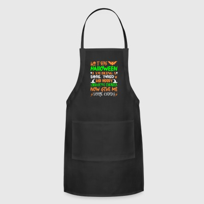This Halloween Being Locomotive Engineer Candy - Adjustable Apron